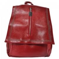 Арт 9035-2 Рюкзак красный 28х28х9,5см