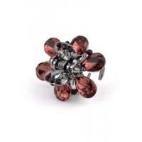 К1725-1 Краб с гранатовыми камнями длина 2,5см