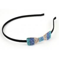 О2550-1 Обруч с голубыми камнями