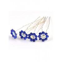 Ш400-3/20 Шпильки синие длина 6,5см, d=1.5см