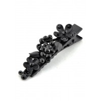 У1060-8 Утка черная, длина 5см