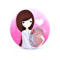 4640 Зеркало карманное Девочки №5