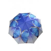 з3551А-2 Зонтик бабочка, 8спиц, полуавтомат