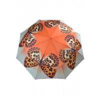 з3551А Зонтик бабочка, 8спиц, полуавтомат