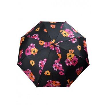 з3738А-1 Зонтик черный, 8спиц, полуавтомат