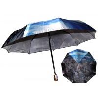 Зонтик 1729 принтованый автомат 4