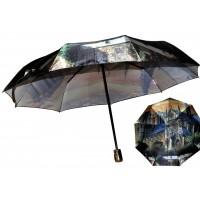 Зонтик 1729 принтованый автомат 5